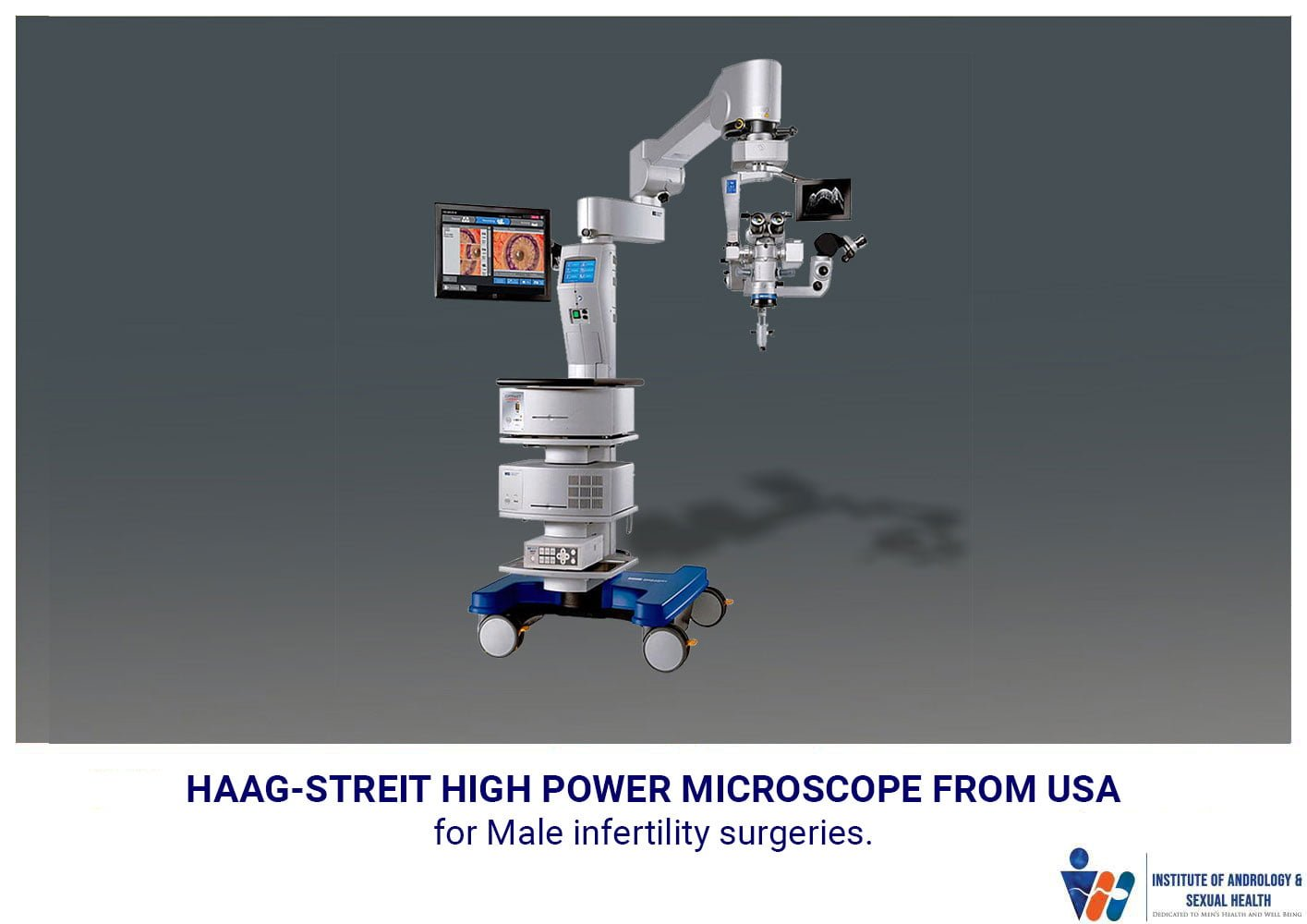 Haag-Streit High Power Microscope From USA for Male Infertility Surgeries.